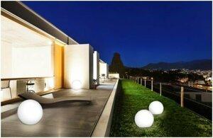 LED Solar Kugelleuchte