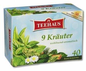 Tee: 9 Kräuter