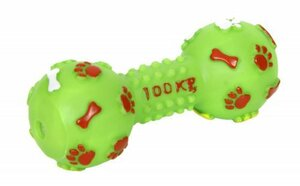 Hundespielzeug Hantel