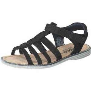 Indigo Sandale Mädchen schwarz