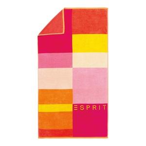 ESPRIT Strandlaken LANI 100 x 180 cm in Pink