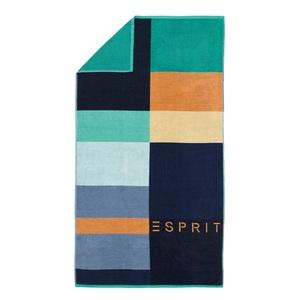 ESPRIT Strandlaken LANI 100 x 180 cm in Blau