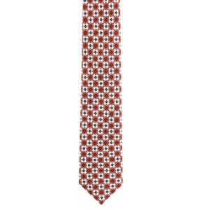 Seidenfalter             Krawatte, reine Seide, geometrisches Muster