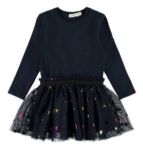 name it             Kleid, mit Tüll, für Mädchen