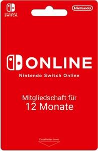 Nintendo Online Mitgliedschaft 12 Monate