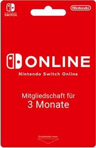 Nintendo Online Mitgliedschaft 3 Monate
