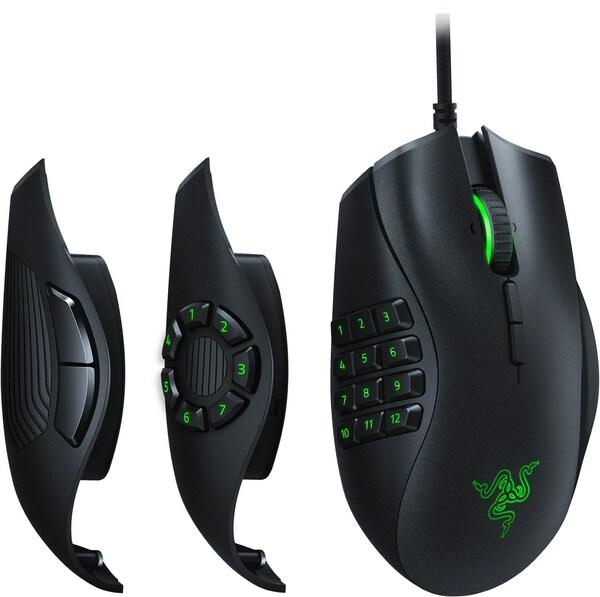 Razer Naga Trinity Gaming Maus schwarz