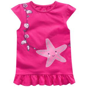 Mädchen T-Shirt mit Seestern-Motiv