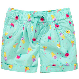 Baby Shorts mit Allover-Print