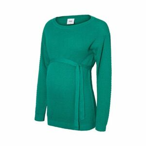 MAMALICIOUS®   Umstands-Pullover Strick New Crystaline grün