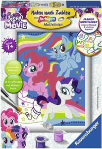 Ravensburger Malen nach Zahlen - My little Pony the Movie