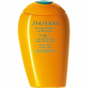 Shiseido Sun Care Tanning Emulsion SPF 6, 150 ml