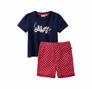 Liegelind Baby-Jungen-Set mit Seestern-Muster, 2-teilig