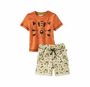 Liegelind Baby-Jungen-Set mit Löwengesicht, 2-teilig