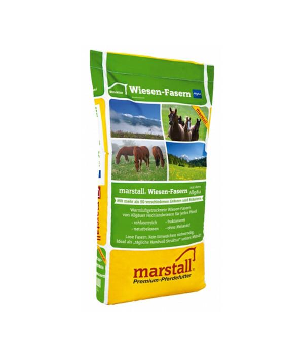 marstall Struktur Wiesen Faser, Pferdefutter, 15 kg