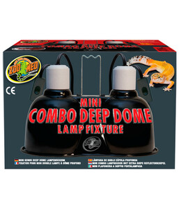 Zoo Med Mini Combo Deep Dome Lampenfassung