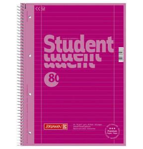BRUNNEN             Collegeblock A4, liniert, pink                 (2 Stück)