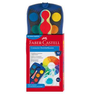 Faber-Castell             Farbkasten Connector 12 Farben