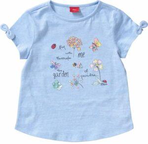 T-Shirt mit Stickerei Gr. 128/134 Mädchen Kinder