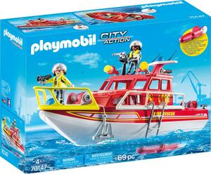 PLAYMOBIL 70147 Feuerlöschboot