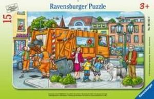 Ravensburger Puzzle Unterwegs mit der Müllabfuhr