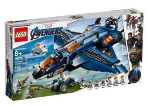 LEGO Marvel 76126 Super Heroes Avengers-Quinjet