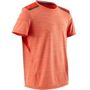 T-Shirt Synthetik atmungsaktiv S500 Gym Kinder orange