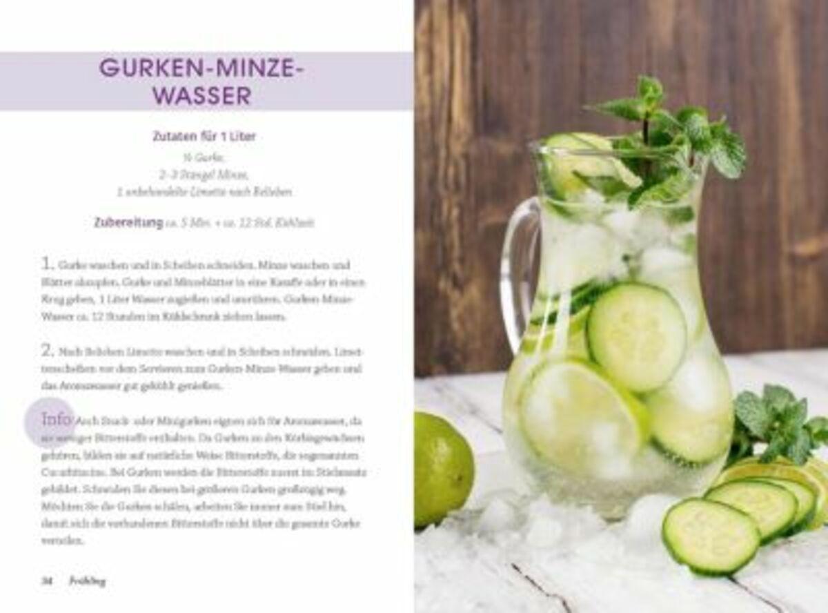Bild 2 von Aromawasser Frische Rezepte mit Obst, Gemüse und Kräutern