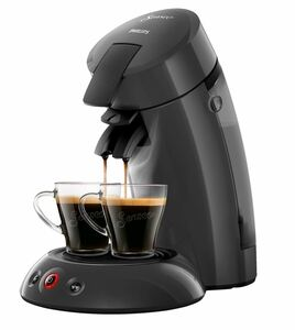 Philips Senseo Kaffeepadmaschine HD 6553/50 Cashmere Grey