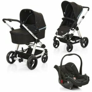ABC Design - Travelsystem Condor 4 All in One, Black Petrol (Design 2018)