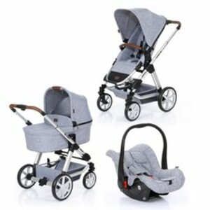 ABC-Design - Travelsystem Condor 4 All in One, Graphite Grey