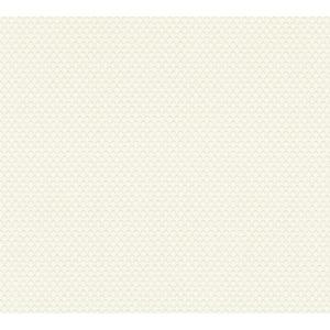 A.S. Création Vliestapete Metropolitan Stories 'Lola' Paris, Uni Raute weiß-silber 10,05 x 0,53 m