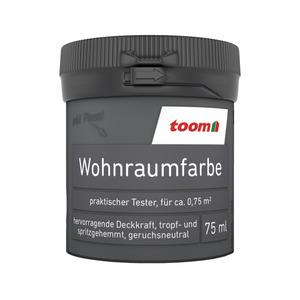 toom Wohnraumfarbe 'Dunkelgrün' 75 ml Tester