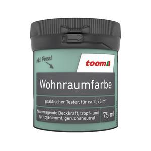 toom Wohnraumfarbe 'Mint' 75 ml Tester matt