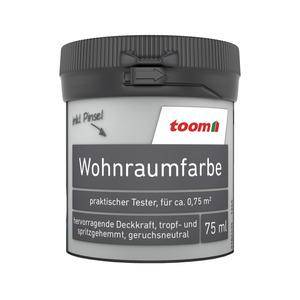 toom Wohnraumfarbe 'Altweiß' 75 ml Tester matt