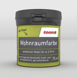 toom Wohnraumfarbe 'Limettengrün' 75 ml Tester matt