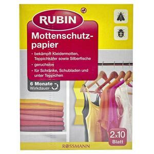 RUBIN Mottenschutzpapier