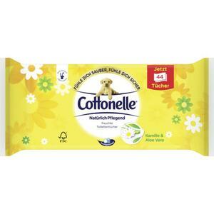 Cottonelle feuchte Toilettentücher Kamille & Aloe Vera