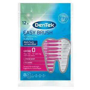 DenTek Easy Brush Interdental-Bürstchen Größe 0