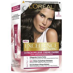 L'Oréal Paris Excellence Creme 3 dunkelbraun