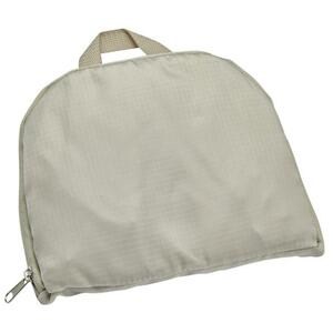 IDEENWELT faltbarer Rucksack beige