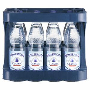 Römerwall Mineralwasser versch. Sorten, 12 x 1 Liter