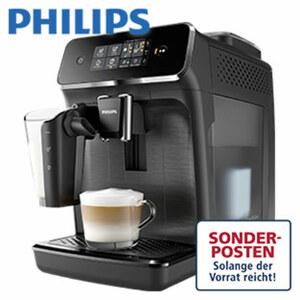 Kaffeevollautomat EP2230/10 · aromatischer Kaffee dank integriertem Brühverfahren · 20.000 Tassen langanhaltende Leistung dank Keramik-Scheibenmahlwerk