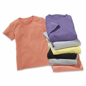 Kinder-T-Shirt versch. Farben, Größe: 104 - 164 je