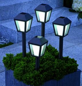 Solar-Leuchten 4er Set