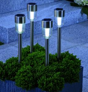 LED-Solar-Leuchten 4er Set