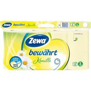 Zewa Toilettenpapier bewährt Kamille 3-lagig / 8x 150 Blatt