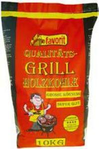 favorit oder Jeden Tag Grill-Holzkohle