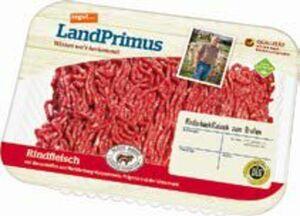 tegut... LandPrimus Rinderhackfleisch oder Hackfleisch gemischt
