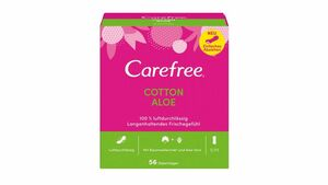 Carefree Cotton Aloe 56 Stück